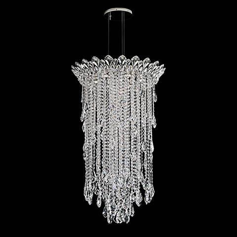 "Schonbek Trilliane Strands 24"" Wide Crystal Chandelier"