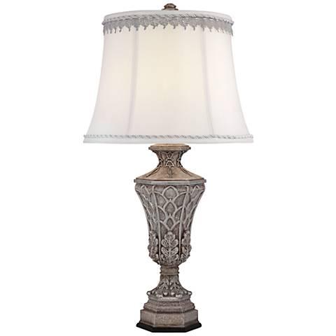 Aldino Six Sided Urn Table Lamp