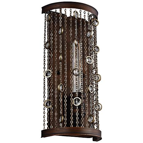 "Colorado Springs 14"" High Chestnut Bronze Wall Sconce"