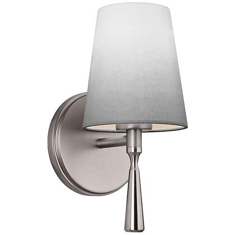 "Feiss Tori 10 1/2"" High Satin Nickel Wall Sconce"
