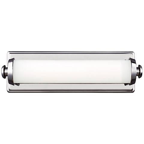 "Edgebrook 4 3/4"" High Polished Nickel LED Wall Sconce"
