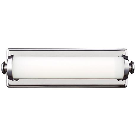 "Edgebrook 4 3/4"" High Polished Nickel LED Wall Sconce"