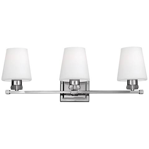 "Feiss Rouen 23 3/4"" Wide Polished Nickel Bath Light"