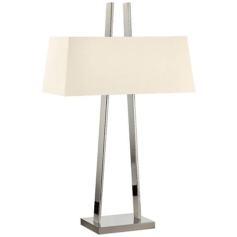Sonneman A Polished Nickel Modern Table Lamp