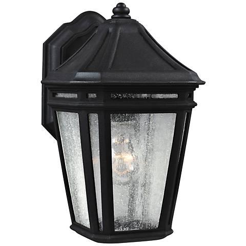 """Feiss Londontowne 11 1/4"""" High Black Outdoor Wall Light"""