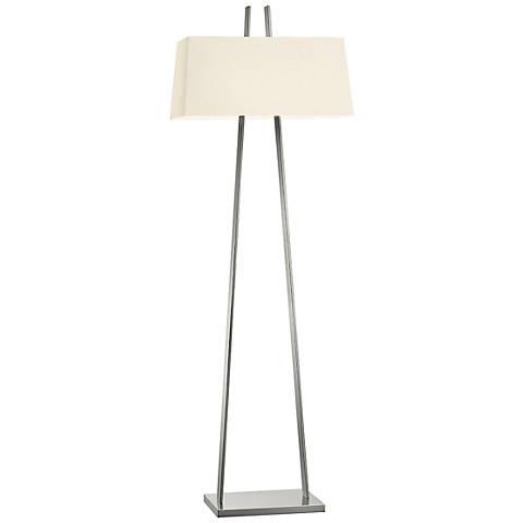 Sonneman A Satin Nickel Modern Floor Lamp