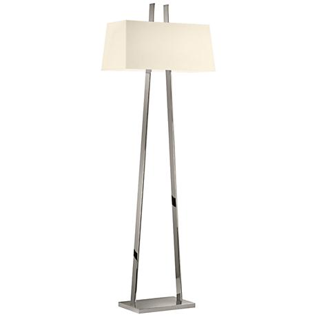 Sonneman A Polished Nickel Modern Floor Lamp
