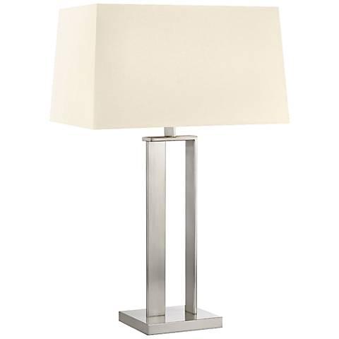 Sonneman D Satin Nickel Modern Table Lamp