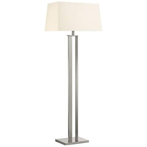 Sonneman D Satin Nickel Modern Floor Lamp