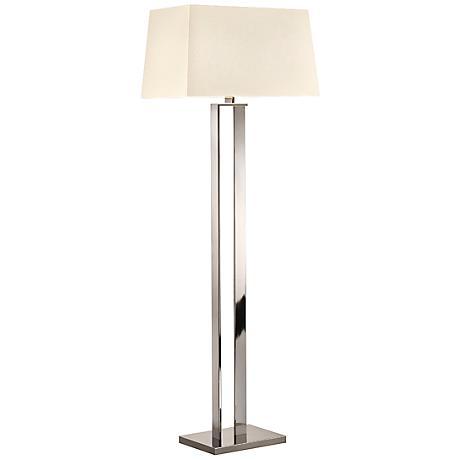 Sonneman D Polished Nickel Modern Floor Lamp