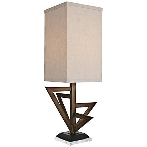 Van Teal Downtown Krypton Gold Table Lamp