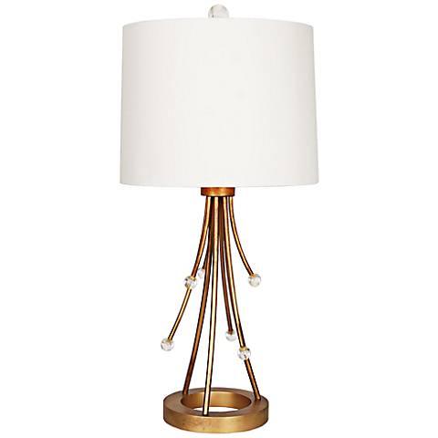 Van Teal Reaction Sienna Gold Table Lamp