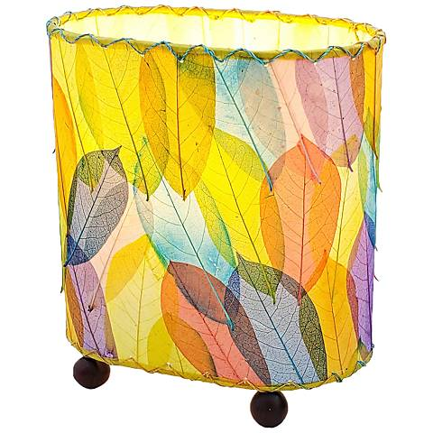Eangee Guyabano Multi-Color Mini Uplight Accent Table Lamp