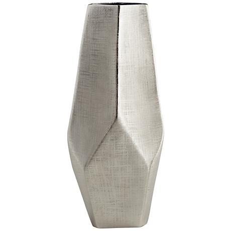 "Cyan Design Celcus Textured Nickel 19 1/4"" High Large Vase"