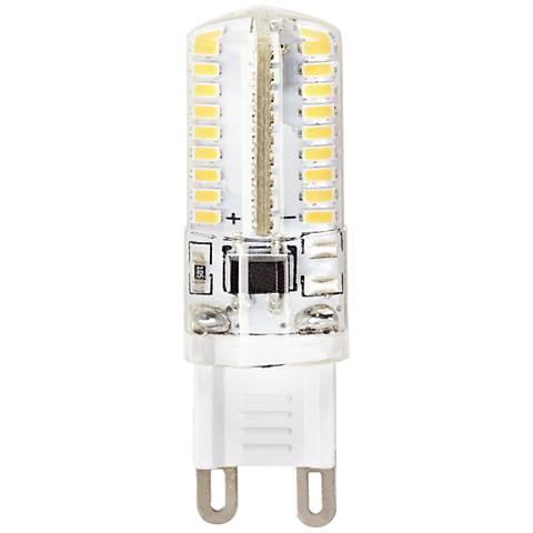 40 Watt Equivalent Clear 4 Watt Dimmable G9 Bi-Pin Bulb
