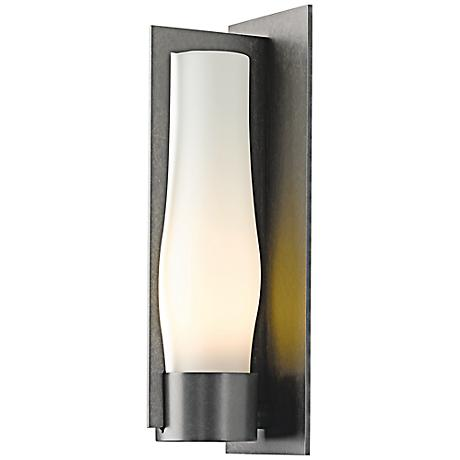 """Harbor 19 1/2"""" High Burnished Steel Outdoor Wall Light"""