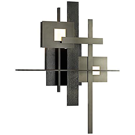 "Planar 27"" High Dark Smoke LED Wall Sconce"