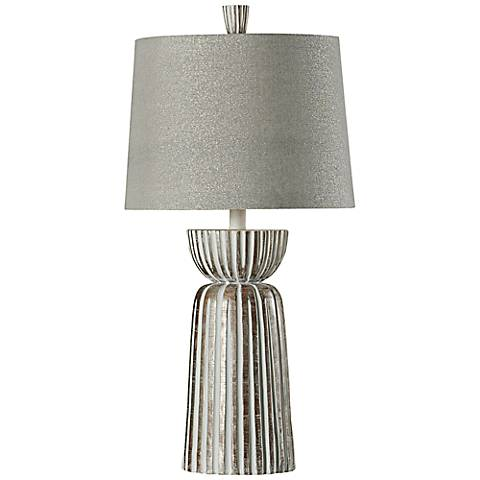 Sedro McAllen Ribbed Tapered Table Lamp