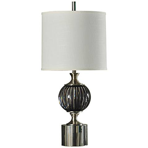 Irena Easton Weave Pedestal Table Lamp