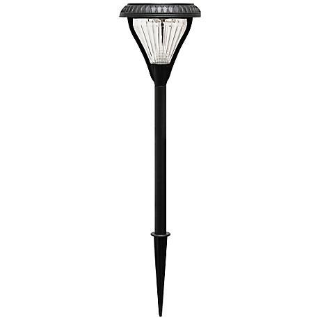 """Premier Black 23 1/2"""" High Solar LED Garden Light"""
