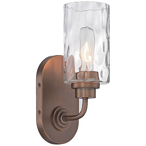 "Gramercy Park 12"" High Old Satin Brass Wall Sconce"