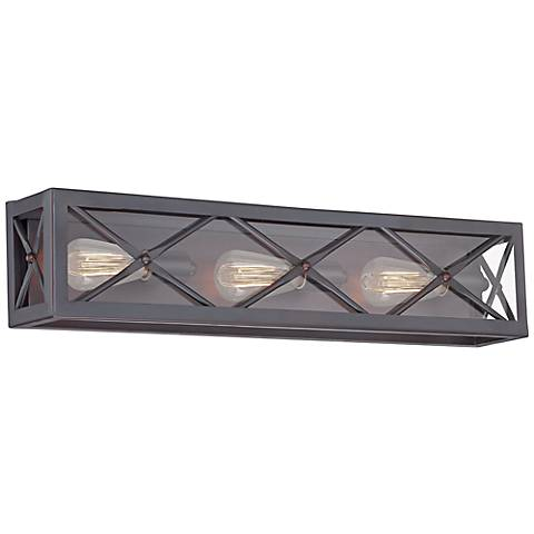 "High Line 26 1/4"" Wide Satin Bronze Bath Light"