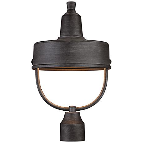 """Portland-DS 17 1/2"""" High Pewter Outdoor Post Light"""