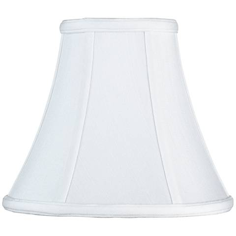 Imperial Collection™ White Bell Lamp Shade 4.5x9x8 (Spider)