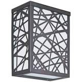 "ET2 Inca 7 1/2"" High Bronze LED Outdoor Wall Light"