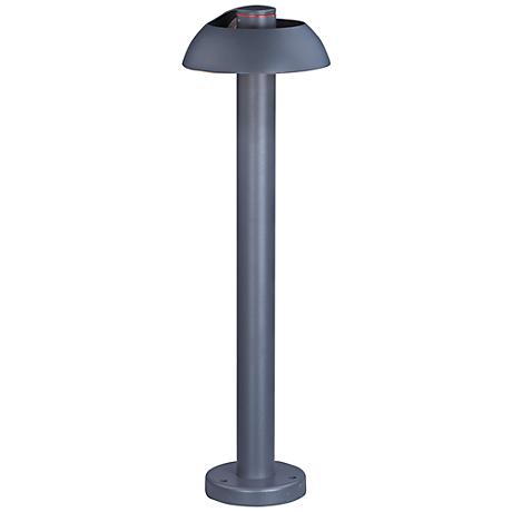 "ET2 Alumilux DC 25 1/2"" High Gray LED Outdoor Path Light"