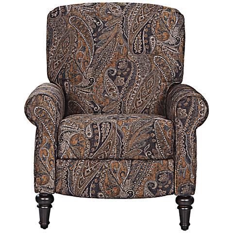 Klaussner Upton High Leg Multicolor Reclining Chair