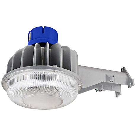 "Brant Silver Aluminum 6""-H Dusk-to-Dawn LED Security Light"