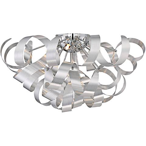 "Quoizel Ribbons 22"" Wide Millenia Ceiling Light"