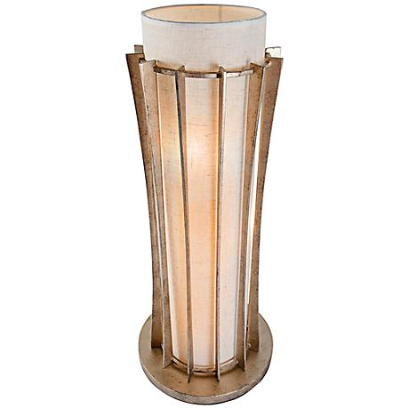 Varaluz Occasion Zen Gold 3 Light Table Lamp