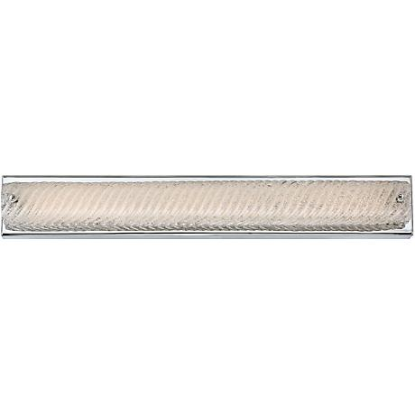 "Platinum Endless 28 3/4"" Wide Chrome LED Bathroom Lighting"