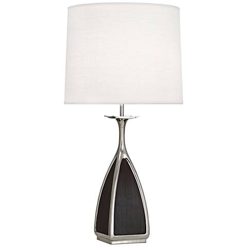 Robert Abbey Trigger Retro Polished Nickel Table Lamp