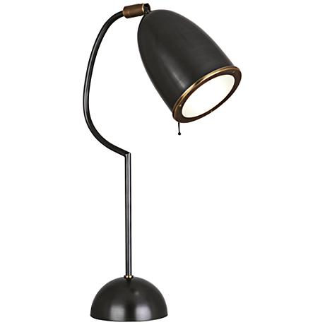 Robert Abbey Director Patina Bronze Studio Desk Lamp