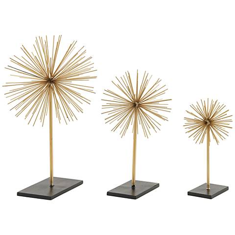 Supernova 3-Piece Decorative Sculpture