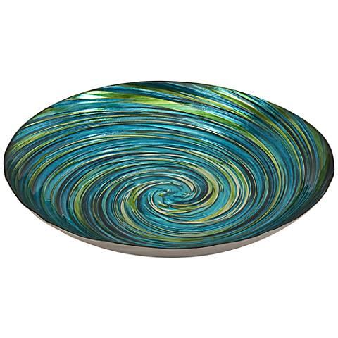 Aria Iridescent Multi Color Glass Bowl