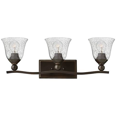 "Hinkley Bolla 26"" Wide Olde Bronze Bath Light"