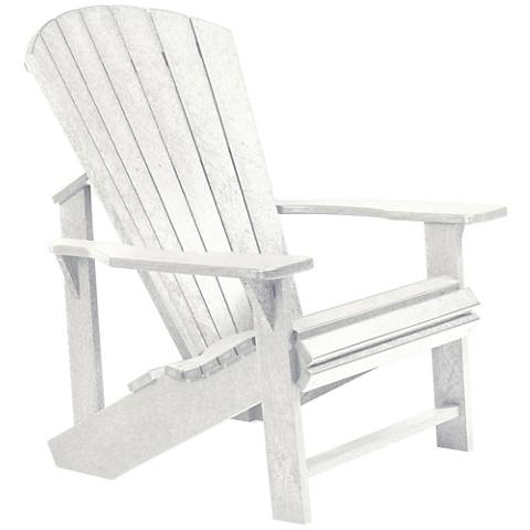 Generations White Outdoor Adirondack Chair