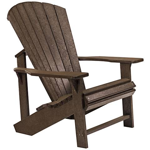 Generations Chocolate Outdoor Adirondack Chair