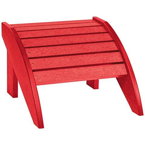 Generations Red Outdoor Adirondack Ottoman