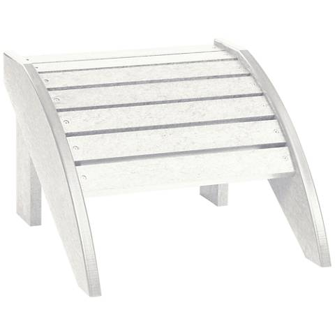 Generations White Outdoor Adirondack Ottoman