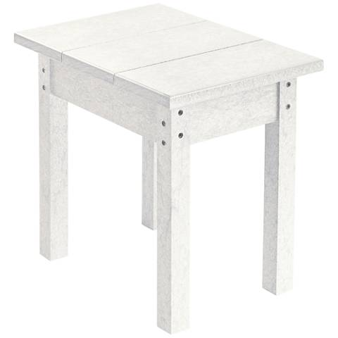 Generations White Small Outdoor Side Table