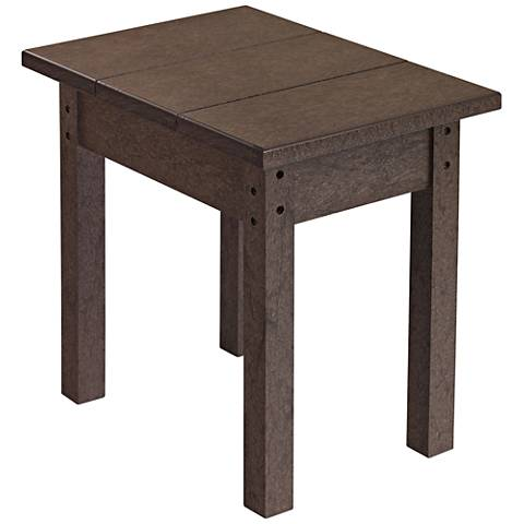 Generations Chocolate Small Outdoor Side Table