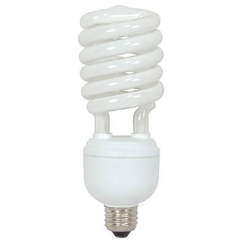 Satco 40 Watt Energy Star Warm White Spiral CFL Light Bulb