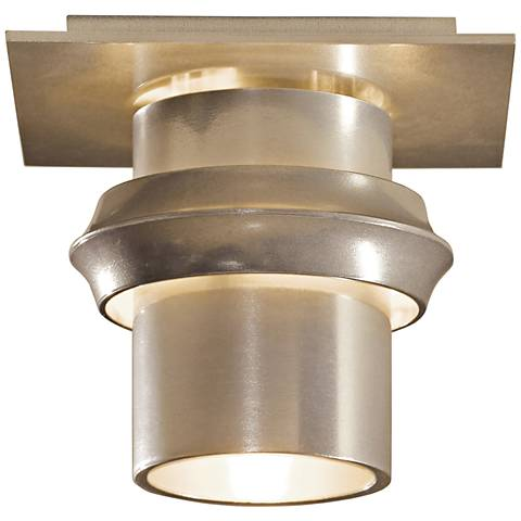 """Hubbardton Forge Twilight 6"""" Wide Soft Gold Ceiling Light"""