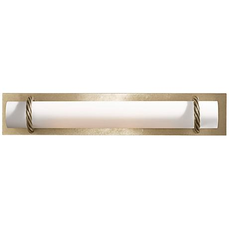 Hubbardton Forge Cavo Gold 24 W Opal Glass Bath Light 8t832 Lamps Plus