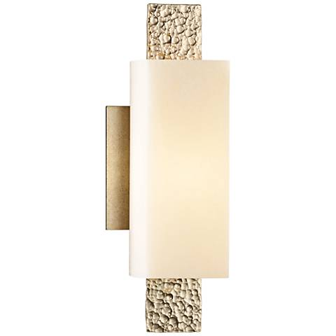"""Hubbardton Forge Oceanus 12 1/2""""H Soft Gold Wall Sconce"""